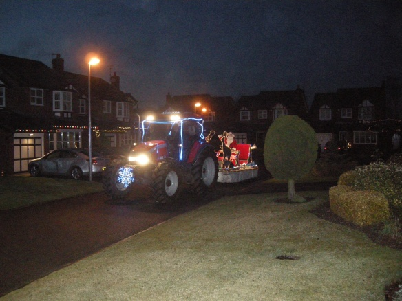 Father Christmas comes to Town 004
