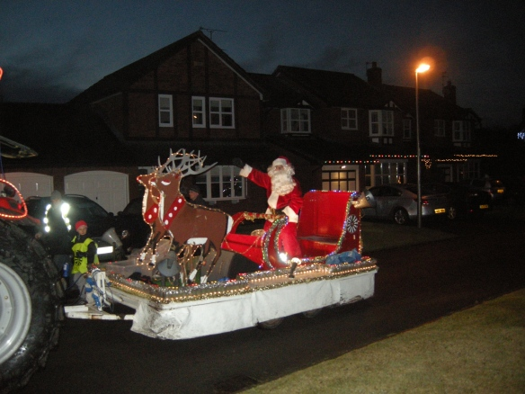 Father Christmas comes to Town 005