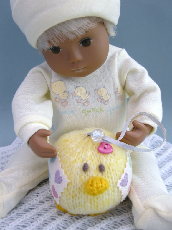 Plum's Easter Chick 001