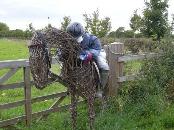 Jockey and race horse 006
