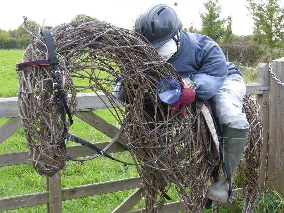 Jockey and race horse 008